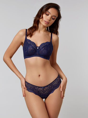 Rosie DD+ non-wired balconette lingerie set