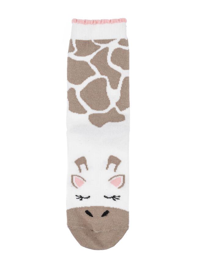 2 pack giraffe ankle socks