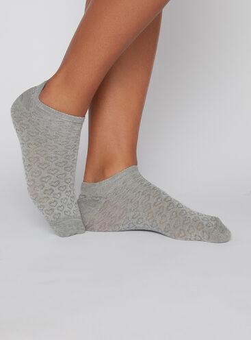 3 pack heart trainer socks