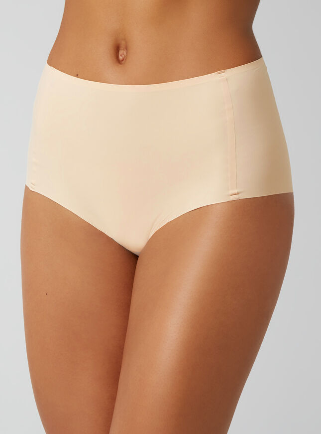 Bonded high-waisted briefs