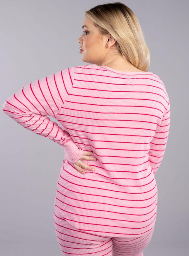 Love stripe henley & legging