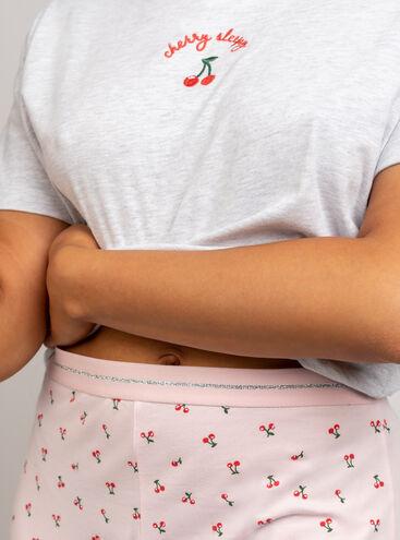 Cherry sleepy tee & legging