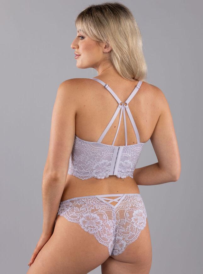 Rowena longline lingerie set