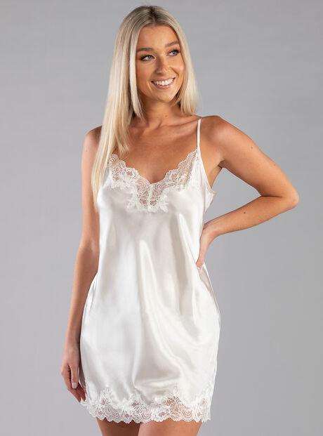 Darcie lace trim chemise