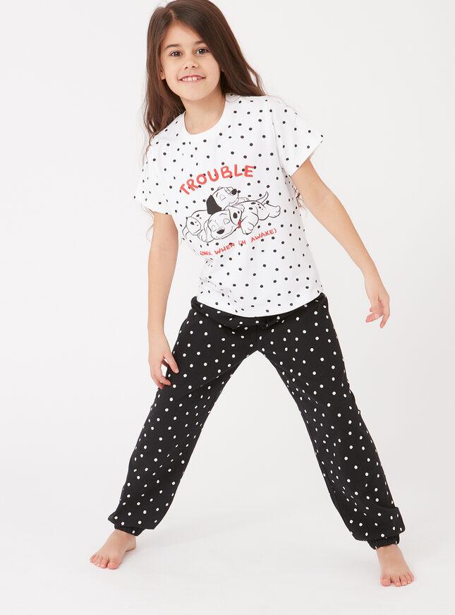 Girls 101 Dalamations pyjama set
