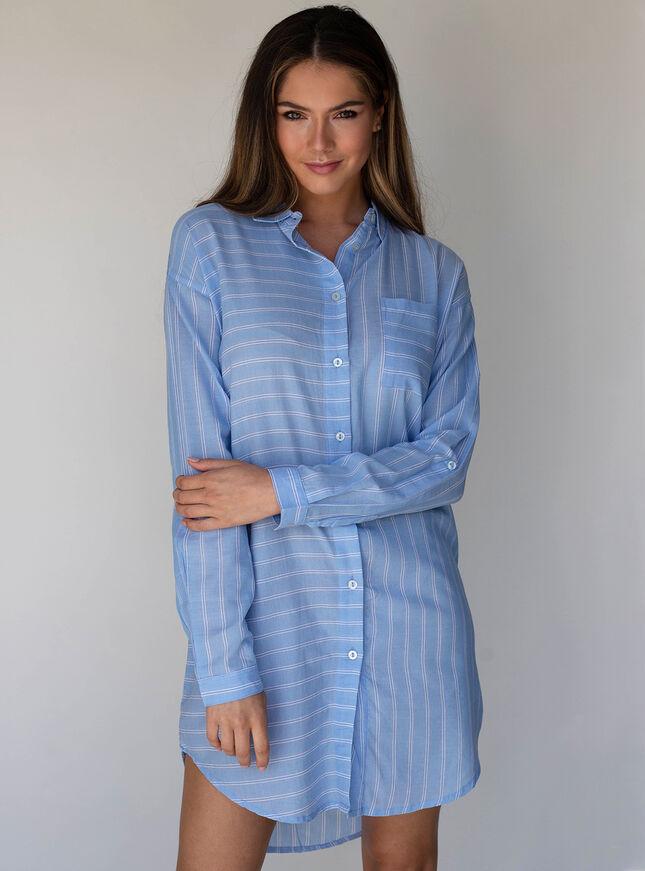 Stripe nightshirt