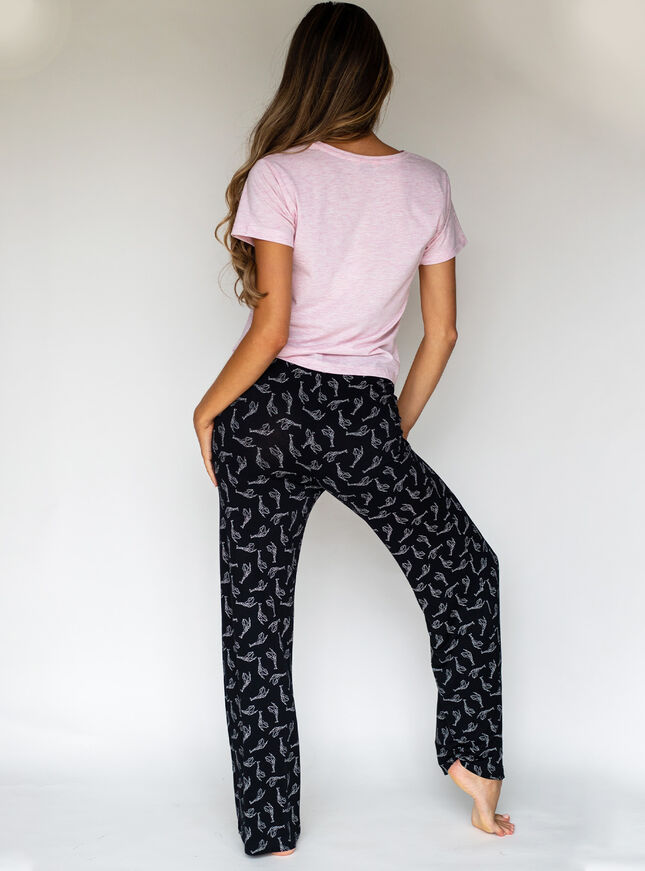 Better together giraffe tee and pant set