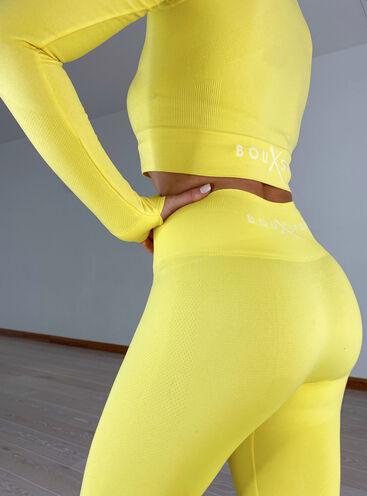 BouxSportSculpt textured seamless 7/8 leggings