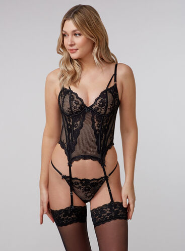 Harlie lace basque