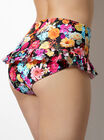 Milano floral high waisted bikini briefs