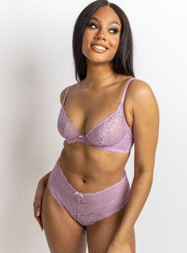 Mollie unpadded plunge lingerie set