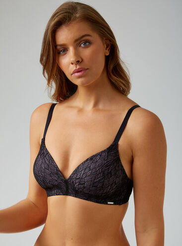 Lace lounge bra