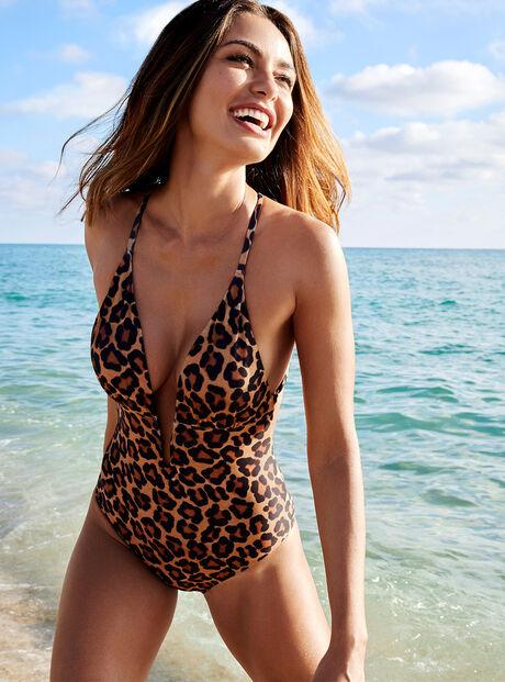 Mozambique leopard swimsuit