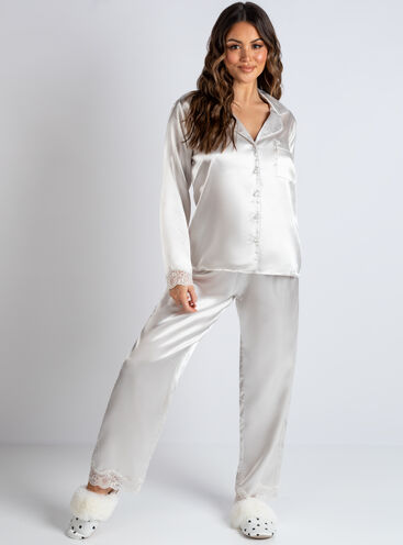 Marnie lace revere and pant set