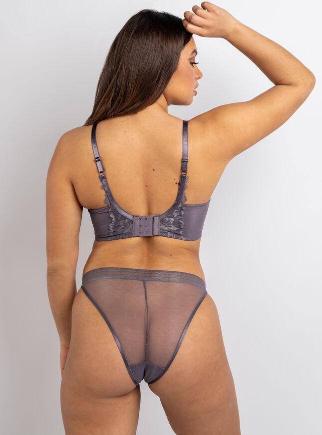 Niamh high apex plunge lingerie set