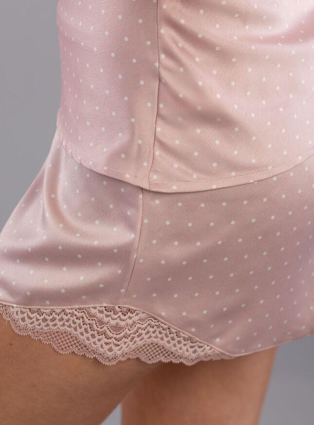 Elise spot print cami set