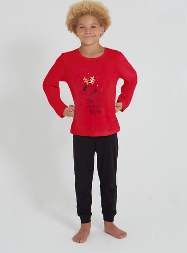 Daschund boys pyjama set