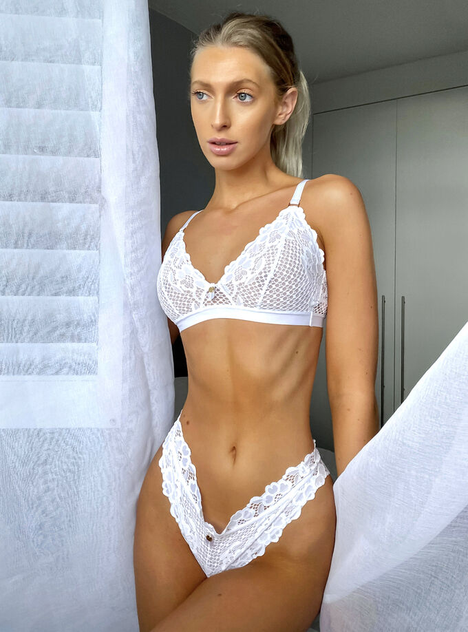 Ivana triangle bra