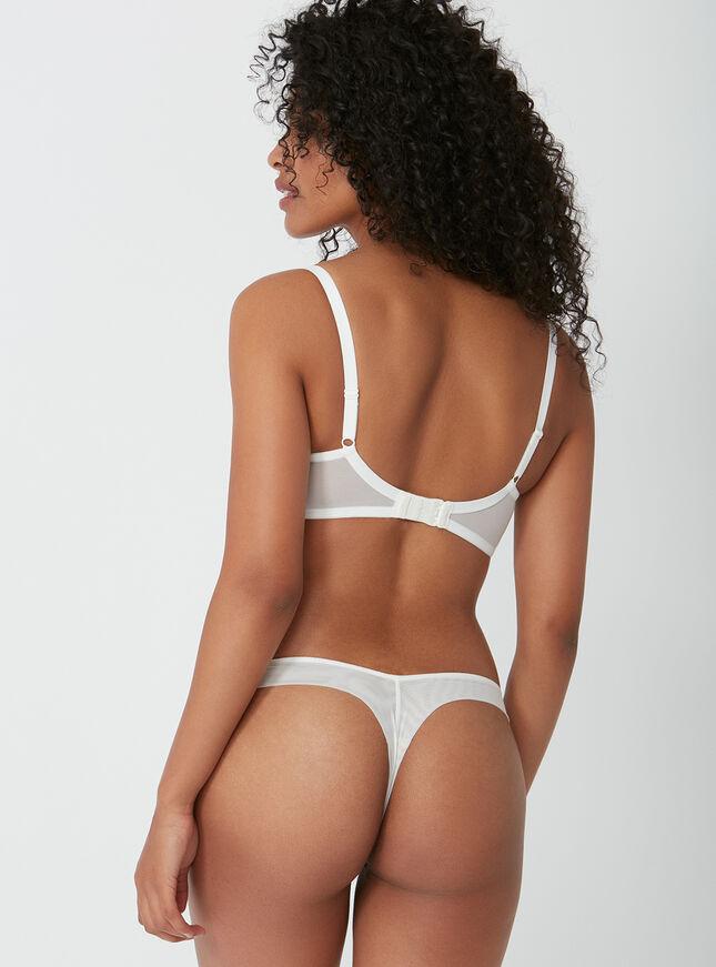 Malise lace thong