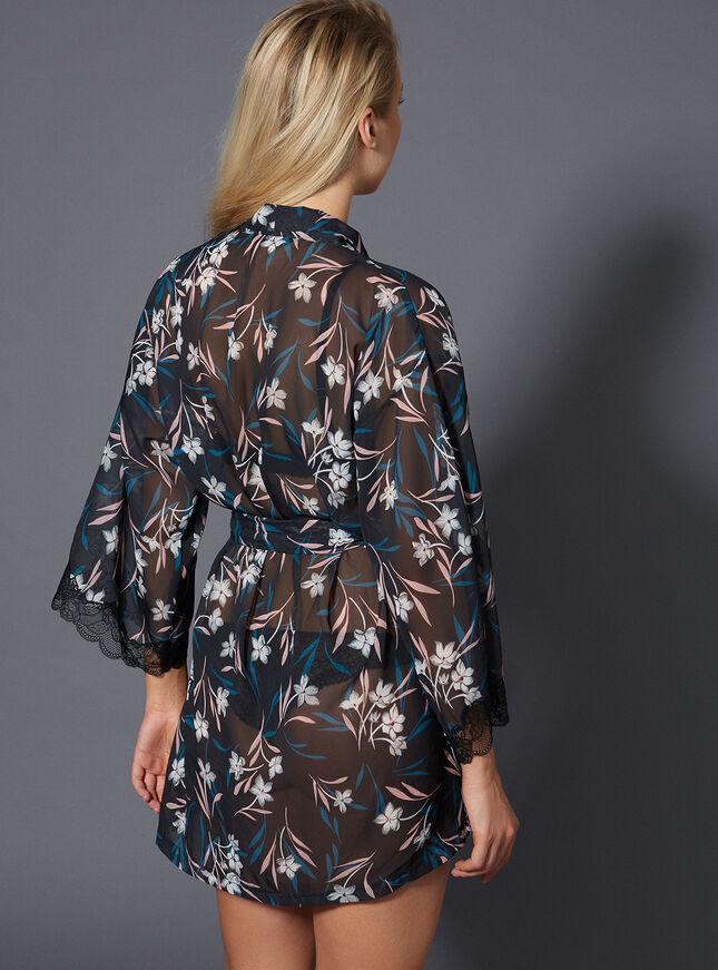 Sienna chiffon robe