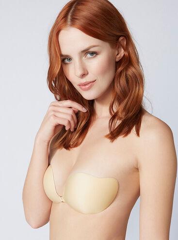 Stick & clip bra