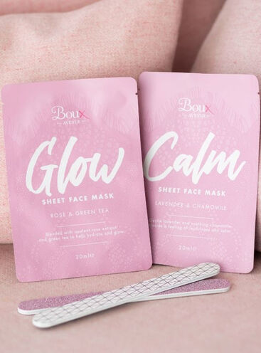 Calm sheet face mask