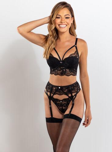Stephanie longline lingerie set