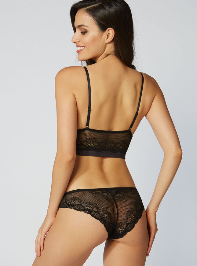 Hattie lace briefs