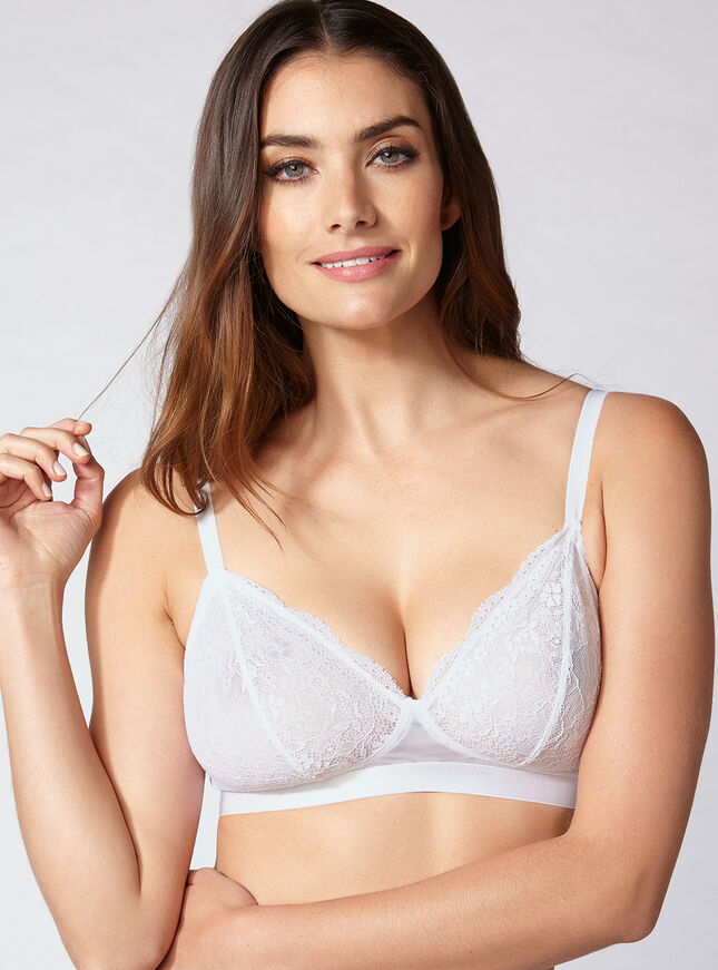 Lucie triangle bra