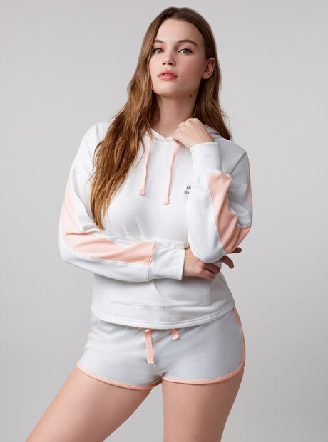 """Shhhh nap time"" hoody and shorts set"