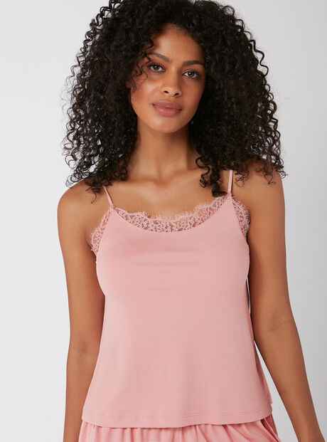 Slinky ribbed camisole