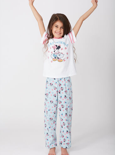 Girls team Minnie Mouse pyjama set