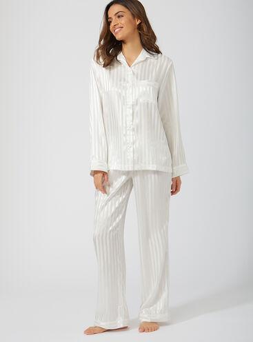 Vivian satin pyjama set