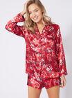 Oriental bloom pyjama top