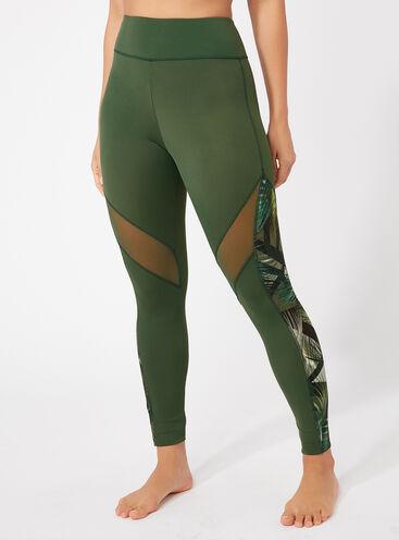 Activewear printed leggings
