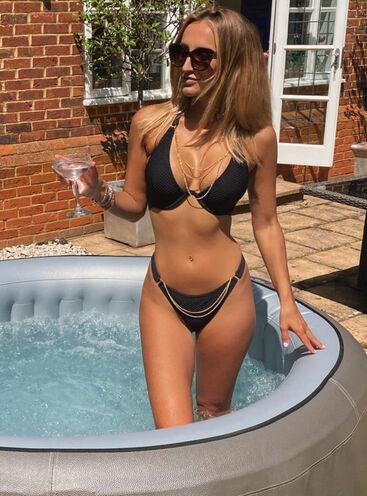 Ibiza chain bikini top