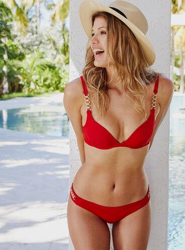 Palma chain bikini top