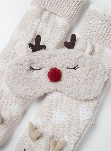 Reindeer borg eye mask