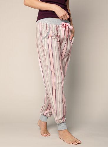 Multi stripe cuffed pants