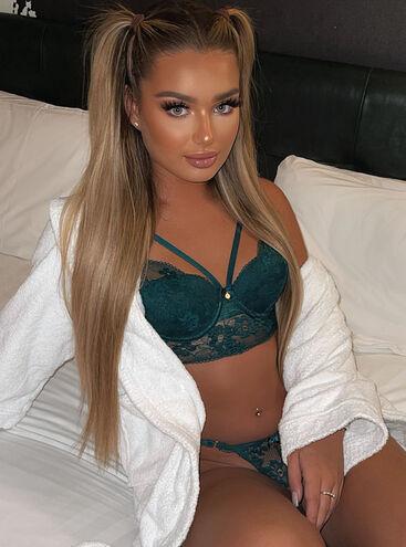 Stephanie longline bra