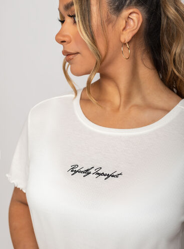 Perfectly imperfect tee and short