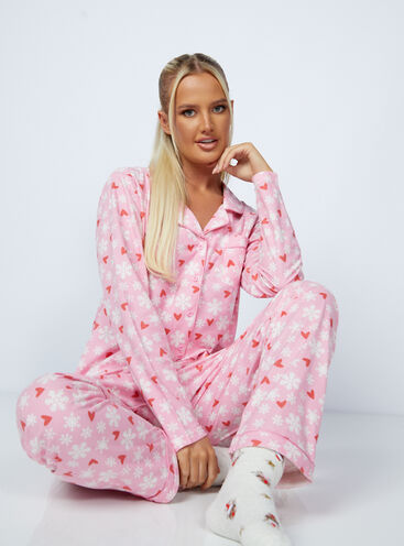 Snowflake pyjamas in a bag