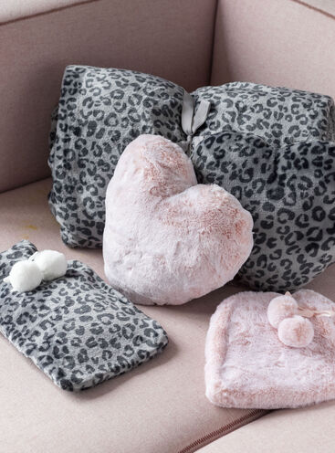 Leopard hot water bottle