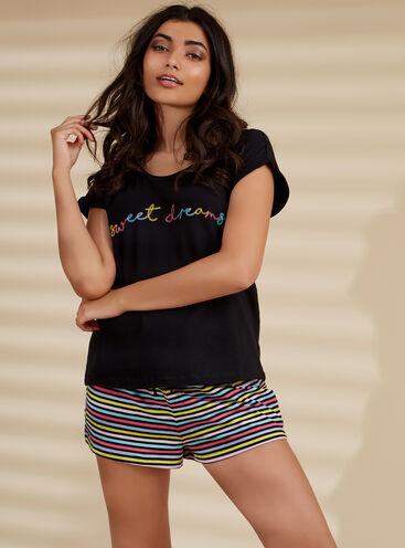 """""""Sweet dreams"""" rainbow pyjama set"""