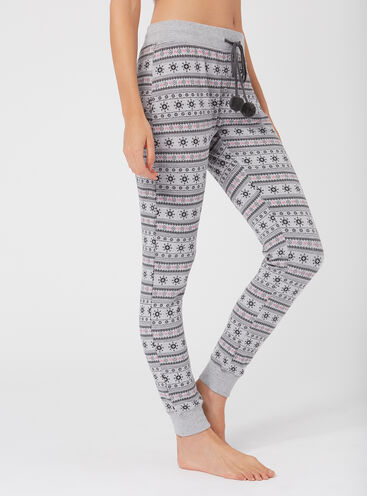 Mix & match fairisle leggings