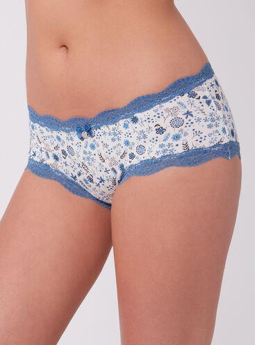 Tatiana ditsy floral shorts