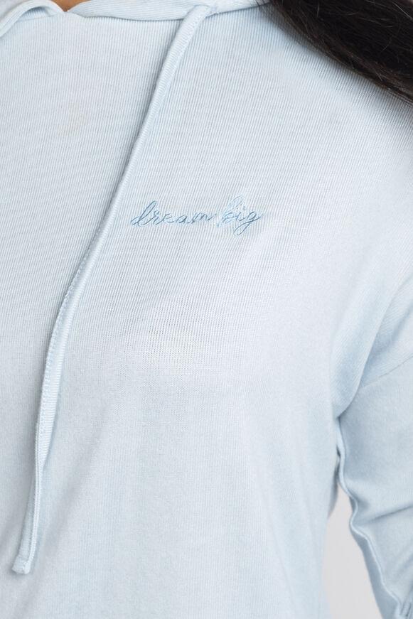 Dream big slogan hoodie and shorts
