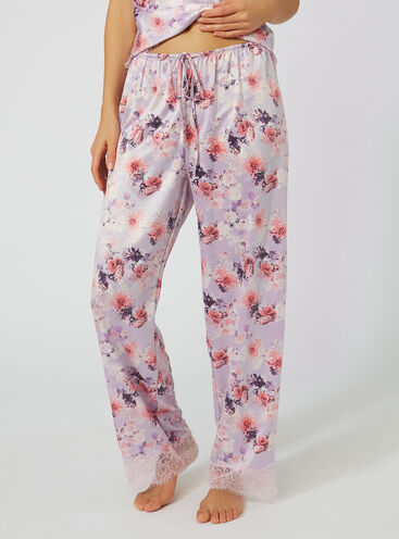 Harriet printed pyjama pants