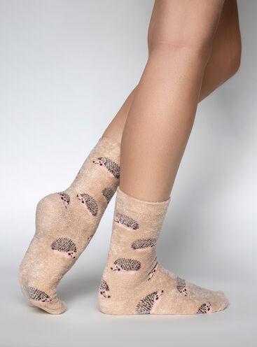 Hedgehog 2 pack cosy socks