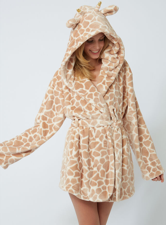 Pretty Giraffe Dressing Gown Boux Avenue